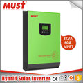 3000VA/2400W with 60A controller High Efficiency MPPT must pv1800 dc 24v 3kva 2400w inverter