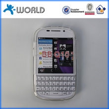 Paypal accept discount soft clear TPU case for blackberry BB Q10