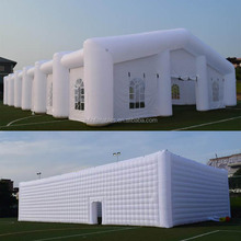 2018 led inflatable cube tent for sports / inflatable bubble dome