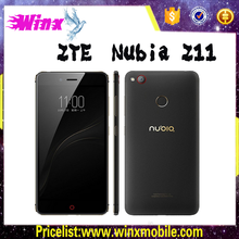 Low cost 4g mobile phone! Original Lenovo nubia z11 mini s 128GB Rom 4GB Ram 23MP 3000mAh lenovo smartphone
