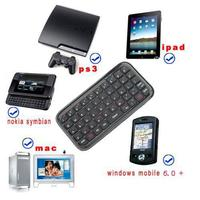 Mini Wireless Bluetooth 3.0 Keyboard for iPad2/3/4 for iPhone 4S 5 for Android OS PC C1