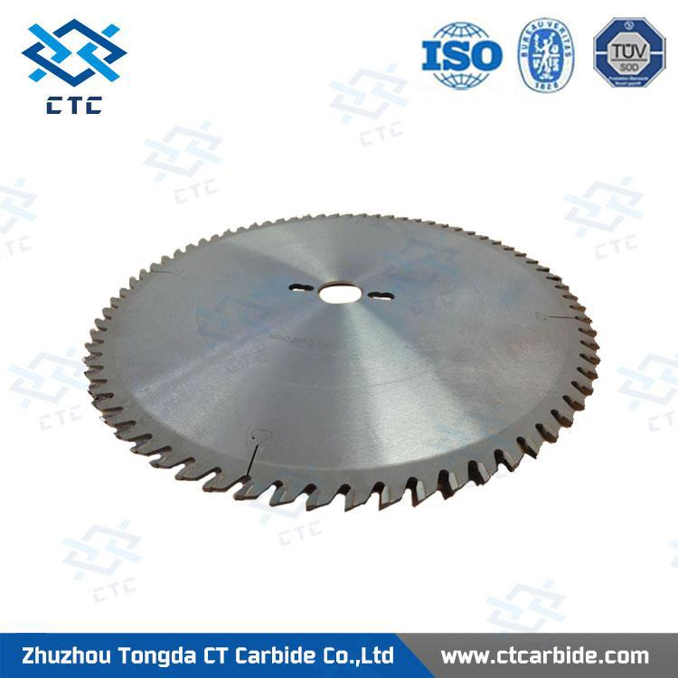 sintered tungsten carbide saw blade for tobacco cutting with low price