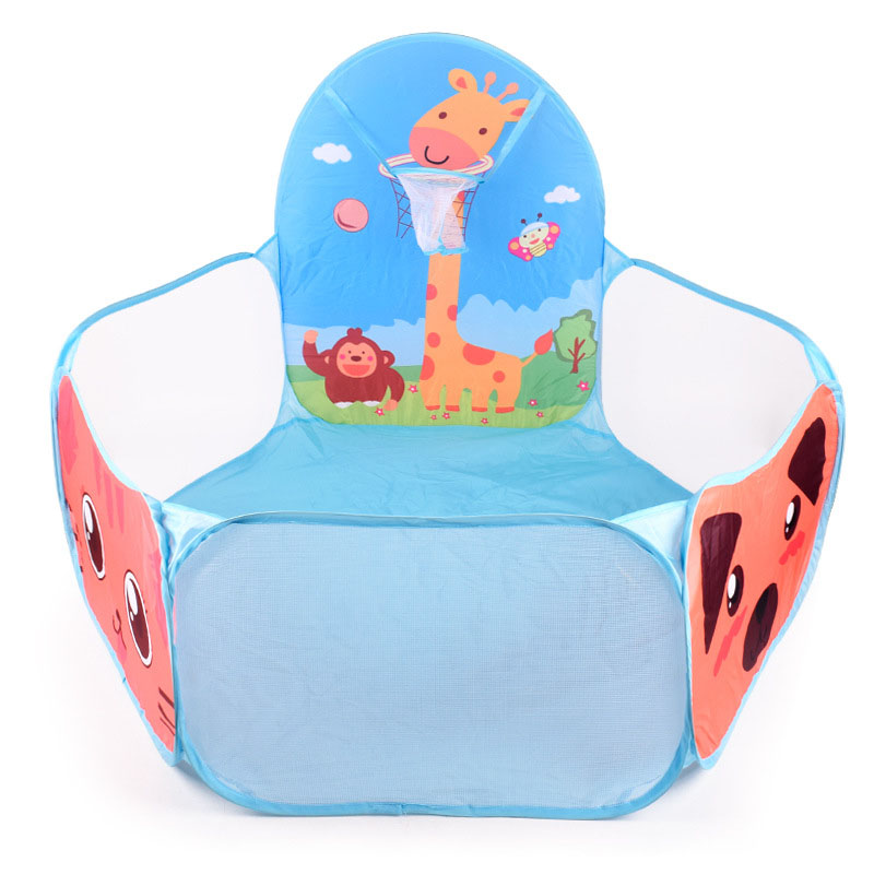 Children's tent indoor game house folding cartoon sea ball pool infant's ball pool toy