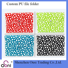 Filing product customized document holder file folder expanding wallets