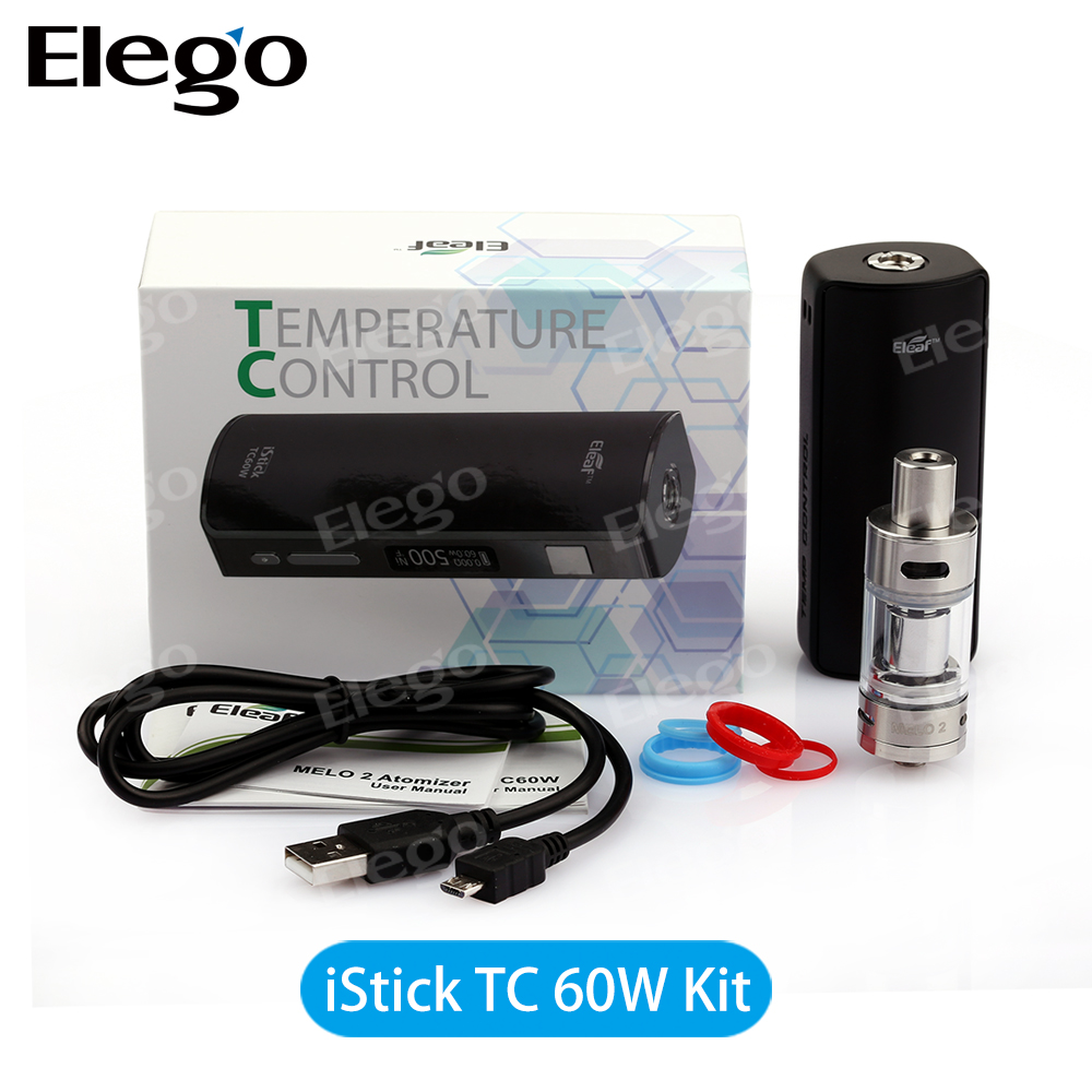 2015 Eleaf iStick 60W Melo 2 Starter Kit Vs eGo One VT and CT Kit