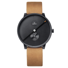 High-end stainless steel unisex minimalist watch with quartz movement watch
