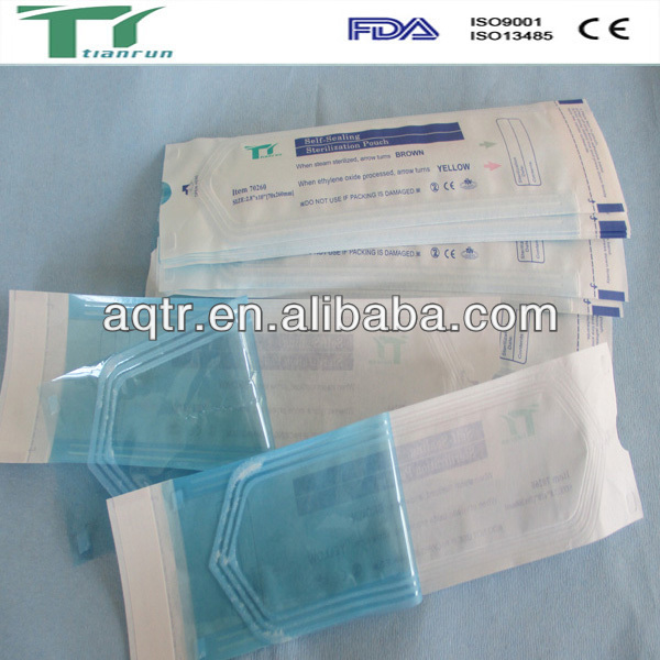 New Products Dental Medical Sterilization Pouch Dental Suppliers