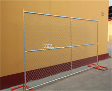 removable chain link fence /temporary chain link fence panel (china