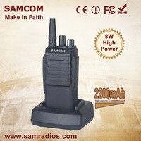 SAMCOM CP-700 2200mAh Li-ion Battery Hot Selling ham rain-proof walkie talkie twoway radio