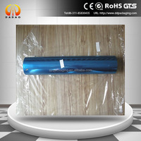 blue color pet plastic film