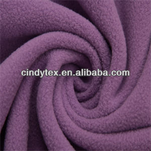 100d drapery soft anti pilling polyester polar fleece fabric for sale