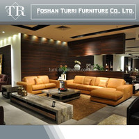 Hot sell Germany modern leisure leather sofa home furniture