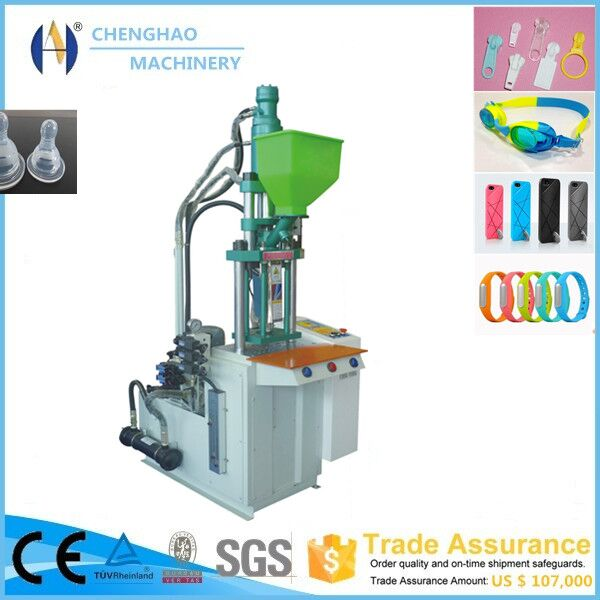 China energy saving automobile part double station or rotary table injection molding machine