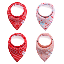 Fashion Baby Bandana Drool Bibs 2018 Best Seller Manufacturers UAS Lastest Baby Scarf Bibs for Drooling