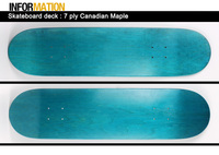 CITY HERMIT 7 ply complete canadian pro maple wood blank skateboard deck manufacturers