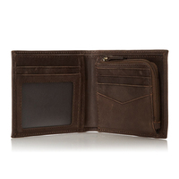 Leather Men S Money Clip Credit