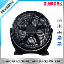 Home appliances good quality plastic cooling square silent box fan 20inch