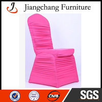 Lycra Spandex Pink Chair Cover JC-YT118
