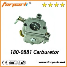 Chainsaw parts 180-0881 stable performance small engine reliable carburetor for 170 180 chain saw