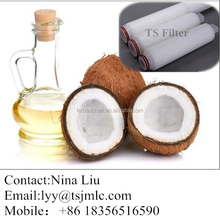 Advanced Micron coconut oil filter machine with customer video show