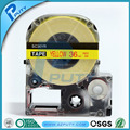 36mm red on Yellow label tape LK-7YRW compatible for EPSON KINGJIM label printers