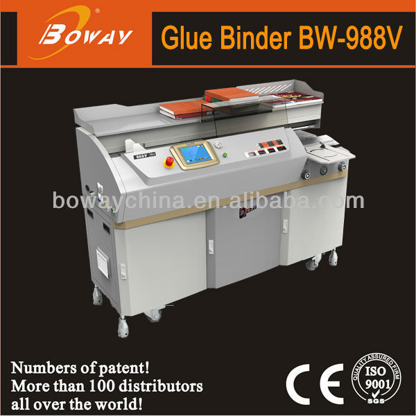 420mm paper length automatic perfect glue photo album binding machine