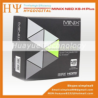 MINIX NEO X8-H Plus X8 -H X8H Android 4.4 TV Box Quad Core Amlogic S812 2GB 16GB 4K Media Player Smart TV Box XBMC Mini PC + A2
