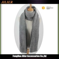 wholesale cable knit 100% acrylic custom fashion office style Scarf