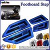 BJ-FOS-YA001 Blue Motorcycle Aluminum Rubber Rider Insert Footboards Footpeg Footrest Pad for Yamaha TMAX T Max 530