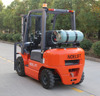 Dual fueled LPG/gasoline forklift with IMPCO conversion device