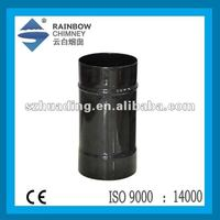 CE enamel chimney flue pipe for stove chimney and fireplace chimnea