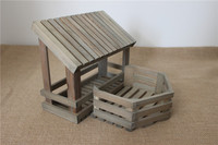 unfinished wooden bird house wholesale