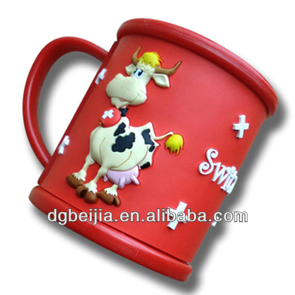 promotional 3D magic mug with silicon sleeve wholesale BJ-M001