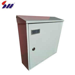 High quality outdoor waterproof metal American newspaper mailbox