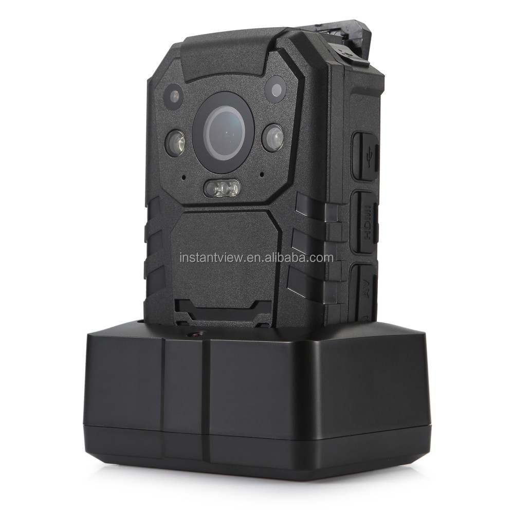 Fast Delivery 4G HD 1296P 11 hours continuous recording Police Body Worn Camera with 360 Degree Rotatable Clip Factory