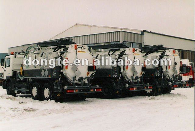 vacuum cleaning truck/Vacuum Suction Semi Trailers/sewage suction tanker trailer Mr.Keane +86 13597828741