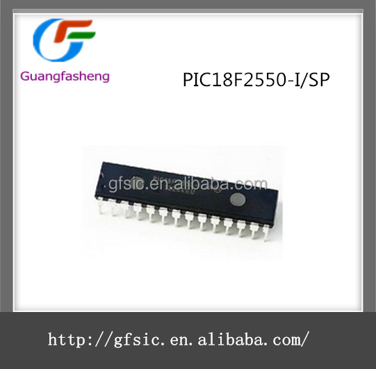 Original New Embedded Microcontrollers IC with PIC18F2550-I/SP