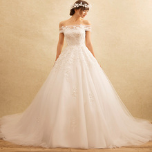 China factory real sample pictures lace top ruffled skirt wholesale alibaba wedding dress