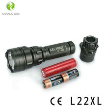 CREE XM-L. Max 800 Lumens LED Tactical Police Hunting Flashlight L22XL with More than 300 meters