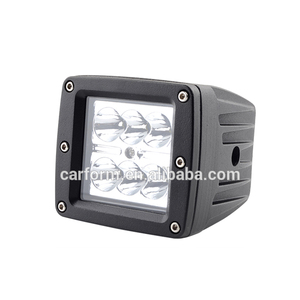 Factory Directly Selling square led work light small size car LED work light new 18w led work light