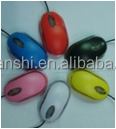high quality color ultra slim wire mouse