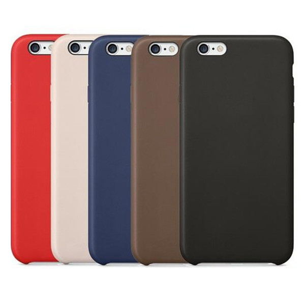 Ultra Thin Soft Leather Cover Case Shell For iPhone 6 4.7, For iPhone 6s Slim PU Case