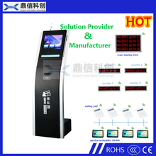 Automatic Bank Wireless Queue Management System With Ticket Dispenser