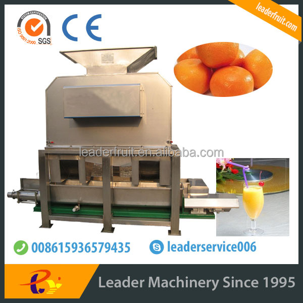 Leader best performance citrus fruits barking and beating machine