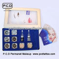 Professional Permanent Makeup Colors Kit Eyebrow Inks Set
