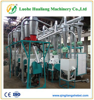 factory sell directly wheat flour production line/maize corn turnkey plant/ grinder mill