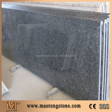 laminated full bullnose blue pearl granite kitchen countertop