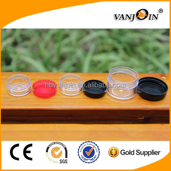 Plastic Body Material and Loose Powder Use cosmetic powder jar