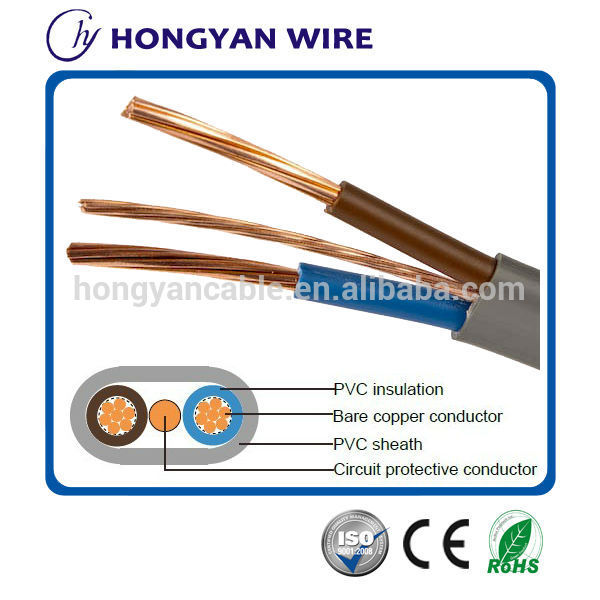Good price electric cable twin and earth