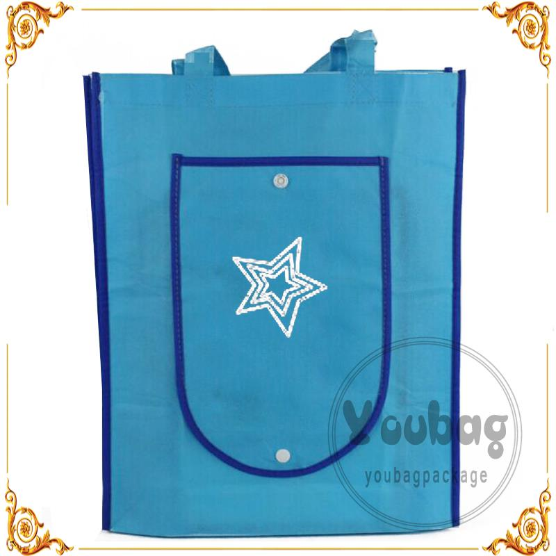 promotion gift bag silver tote bag shoper bag